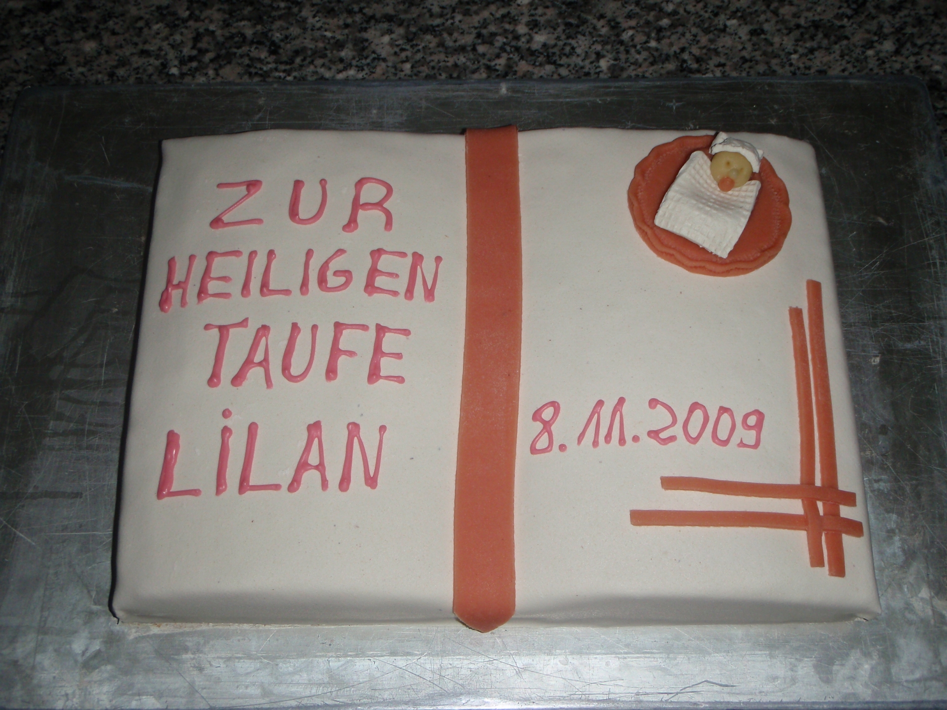 Maracujasahne-Torte